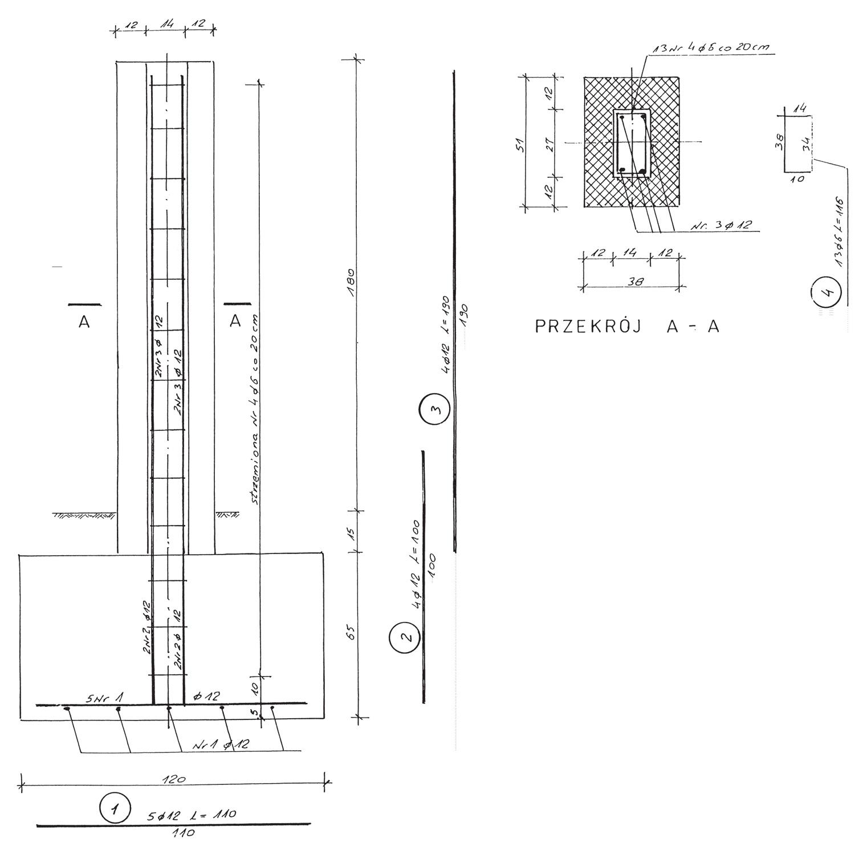 Ogromny Ogrodzenie z klinkieru, cz. 2 Konstrukcja XG38