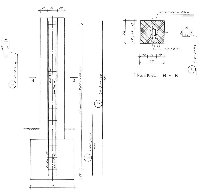 Genialny Ogrodzenie z klinkieru, cz. 2 Konstrukcja XQ58